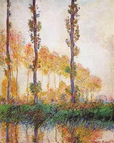 Autumn Poplars 1891 - Claude Monet