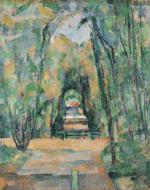 Avenue at Chantilly - Paul Cezanne