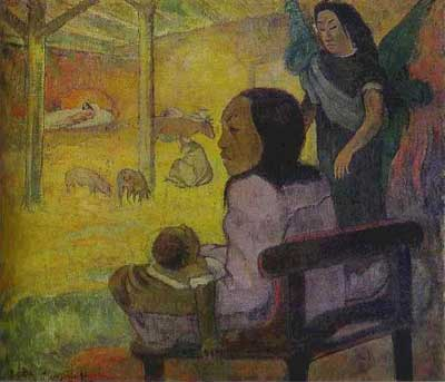 Baby (The Nativity) - Paul Gauguin