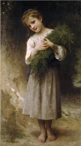 Back Fields - William Adolphe Bouguereau
