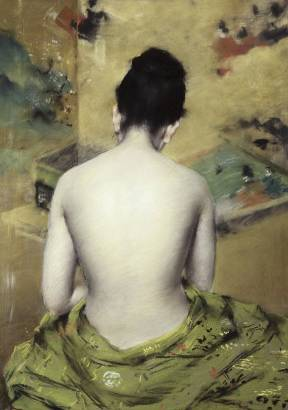 Back of Nude - William Merritt Chase