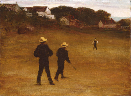 Ball Players - William Morris Hunt