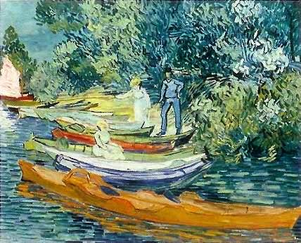 Bank of the Oise - Vincent van Gogh