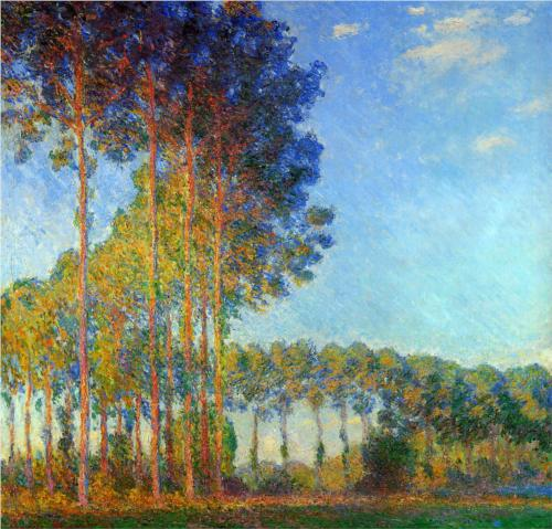 Banks of the Epte (View from the Marsh) - Claude Monet