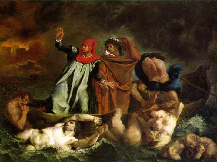 Eug�ne Delacroix (1798 - 1863) Kimdir Eserleri, Hayat�, Biyografisi