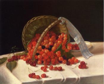 Basket of Cherries II - John F Francis