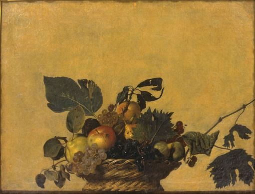 Basket of Fruit - Michelangelo Merisi da Caravaggio