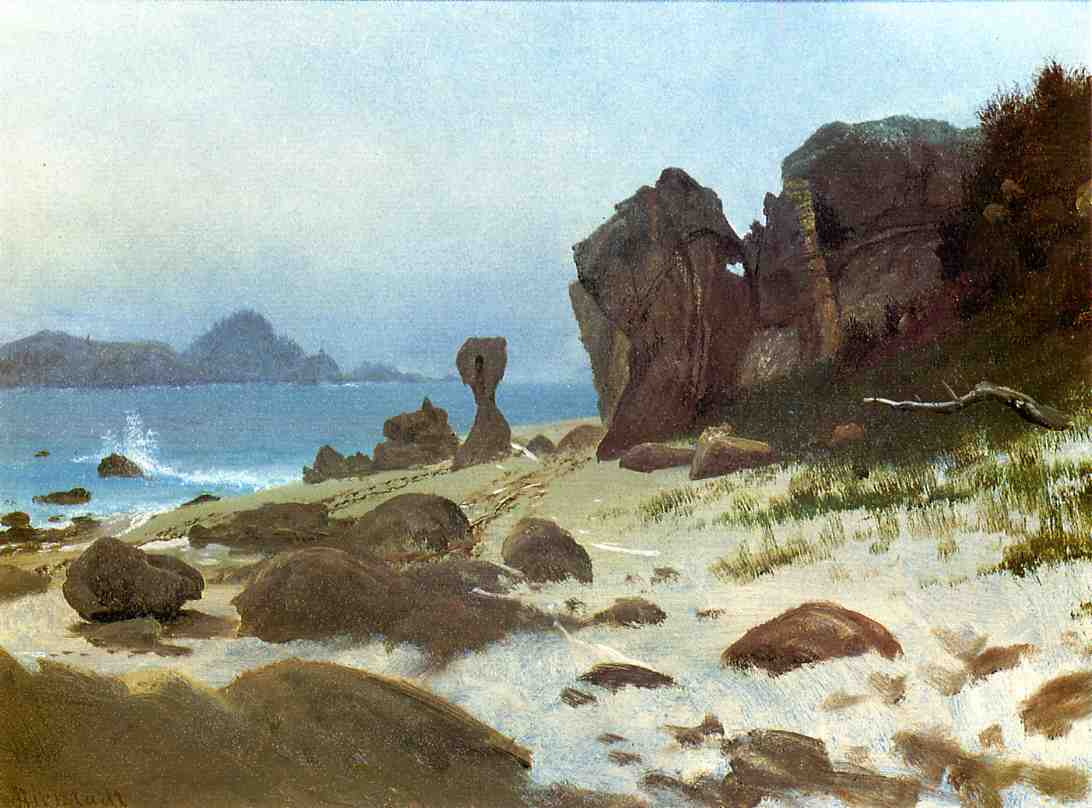 Bay of Monterey - Albert Bierstadt