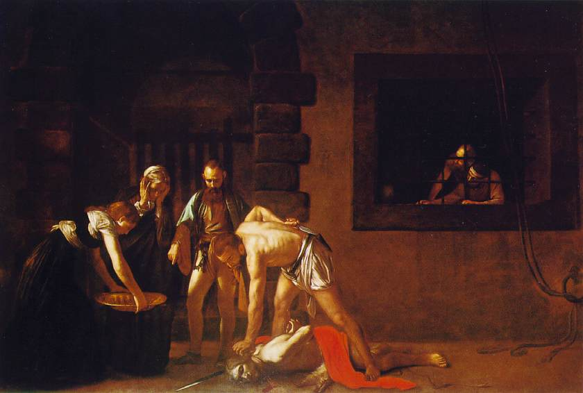 Caravaggio - Beheading of St. John the Baptist