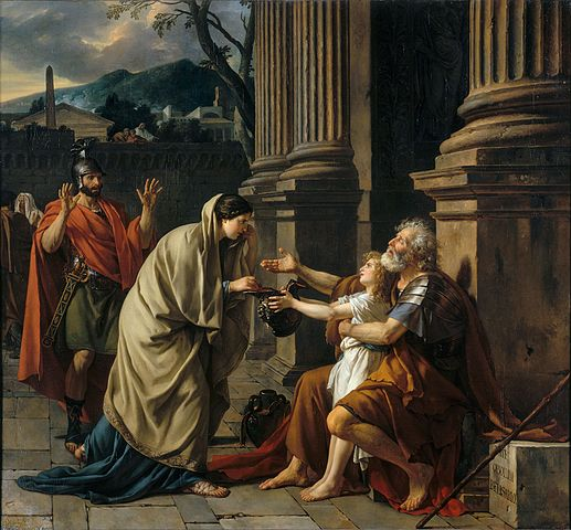 Belisarius - Jacques Louis David