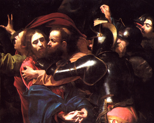 Betrayal of Christ - Michelangelo Merisi da Caravaggio