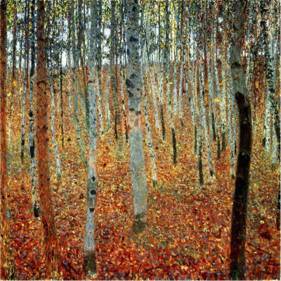 Birch Forest - Gustav Klimt