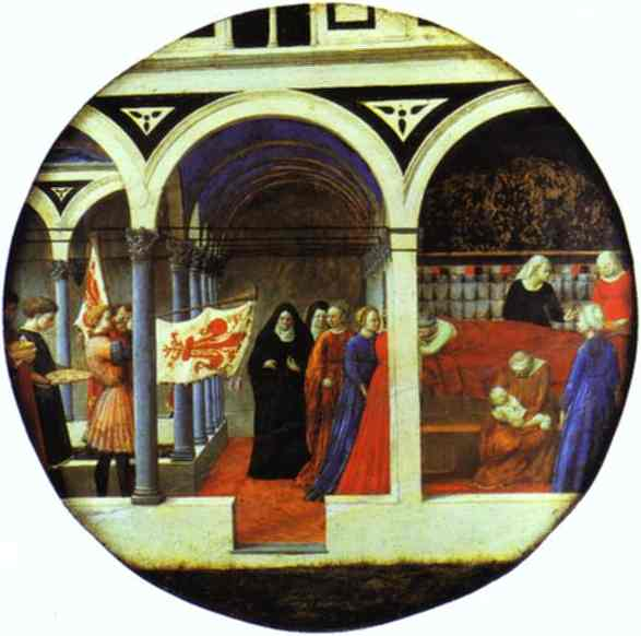 Birth Salver - Masaccio