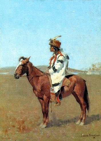 Blackfoot Chief - Frederic Remington
