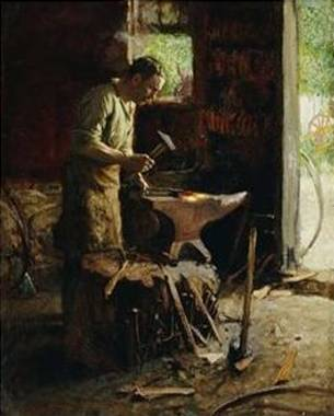 Blacksmith - Edward Henry Potthast