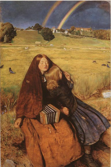 Blind Girl - John Everett Millais