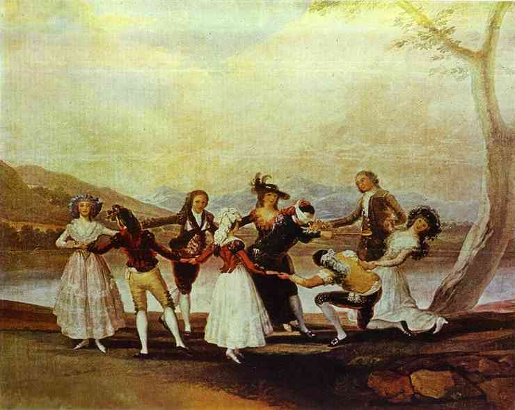 Blind Man's Bluff - Francisco de Goya