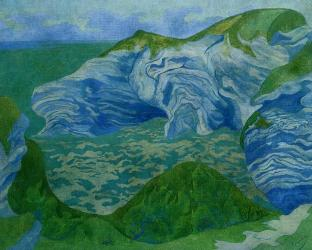 Blue Cliffs - Paul Ranson