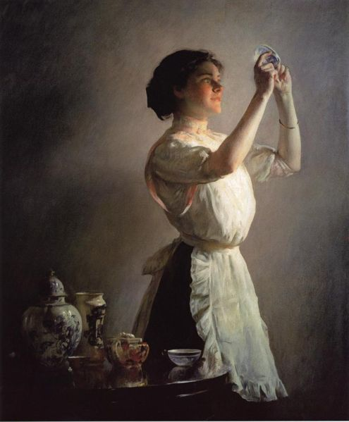 Blue Cup - Joseph DeCamp