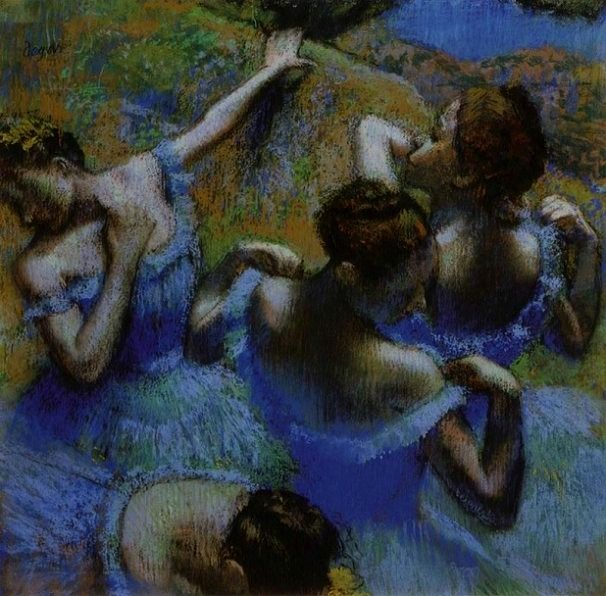 Blue Dancers 1899 - Edgar Degas
