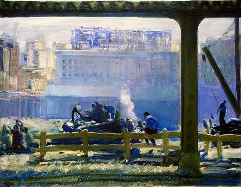 Blue Morning - George Bellows