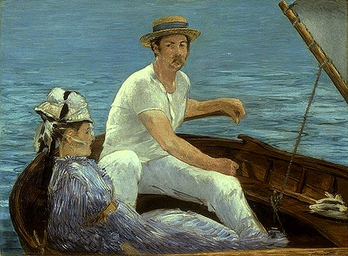Boating - Edouard Manet