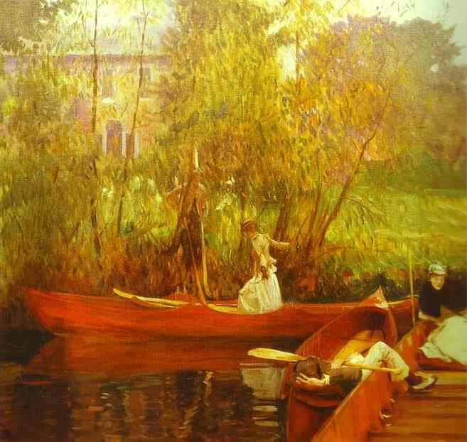 A Boating Party - John Singer Sargent