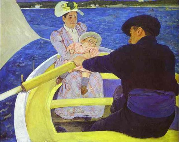 Boating Party - Mary Cassatt
