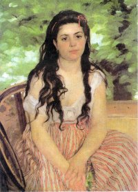 The Bohemian - Pierre Auguste Renoir