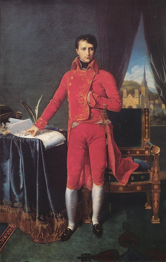 Bonaparte First Consul - Jean Auguste Dominique Ingres