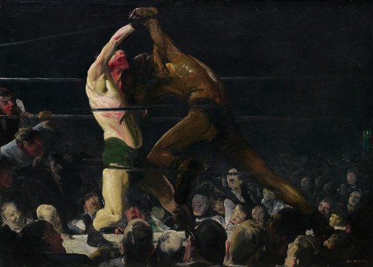 Both Members of This Club - George Bellows