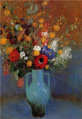 Bouquet of Wild Flowers - Odilon Redon