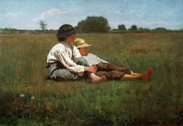 Boys in a Pasture - Winslow Homer