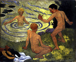 Boys on a River Bank - Paul Serusier