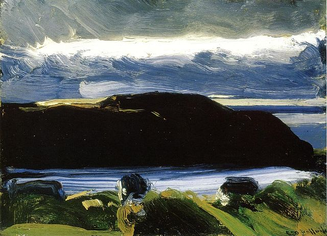 Breaking Sky Monhegan - George Bellows