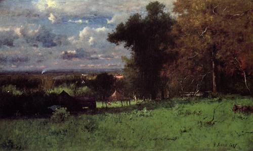 Breezy Autumn - George Inness
