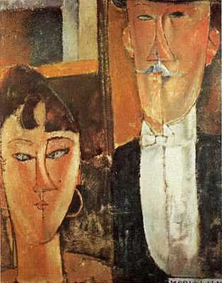 Bride & Groom - Amedeo Modigliani