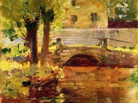 Bridge at Giverny - Theodore Robinson