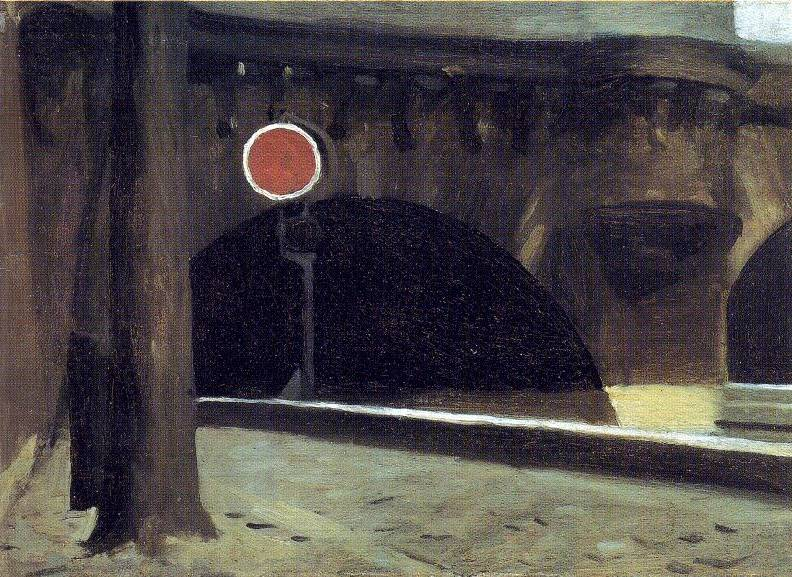 Bridge in Paris - Edward Hopper
