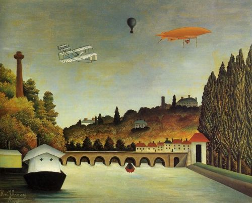 Bridge in Sevres - Henri Rousseau