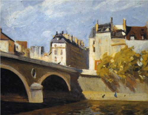 Bridge on the Seine - Edward Hopper