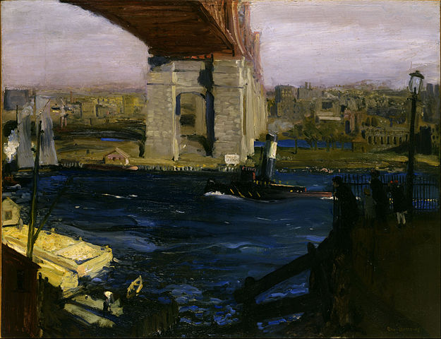 Bridge, Blackwell's Island - George Bellows