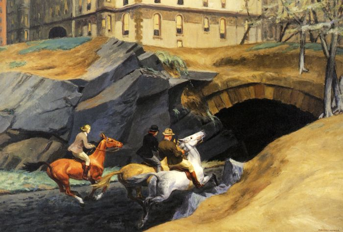 Bridle Path - Edward Hopper