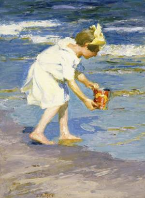 Brighton Beach - Edward Henry Potthast