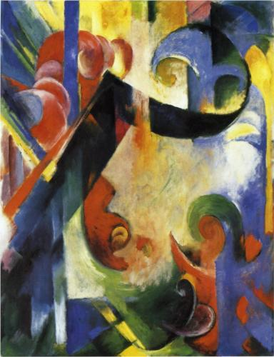 Broken Shapes - Franz Marc