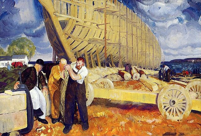 Builders of Ships - George Bellows