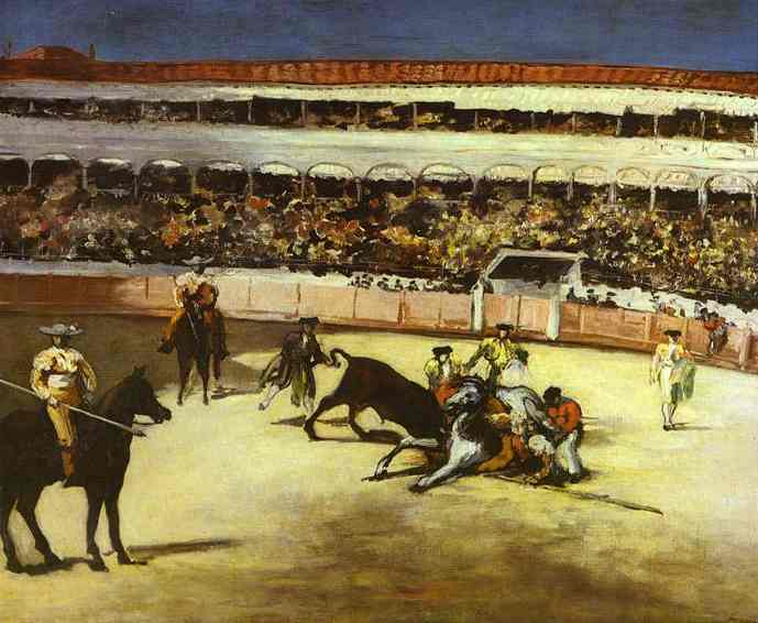Bull Fighting Scene - Edouard Manet