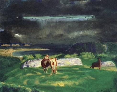Bull and Horse - George Bellows