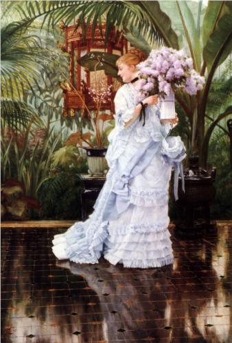 Bunch of Lilacs - James Tissot
