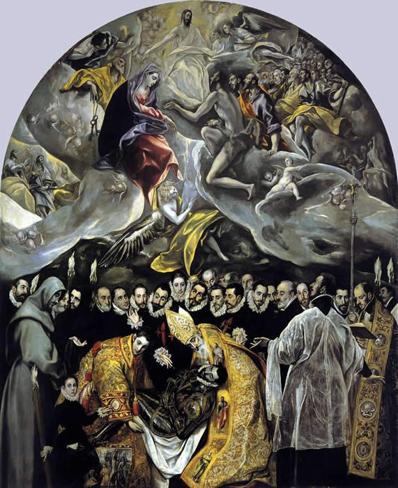 Burial of Count Orgaz - El Greco